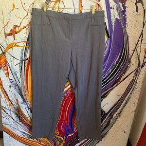 Alfani straight leg dress pants